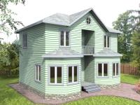 Проект К7 Дом каркасный 7x8.8
