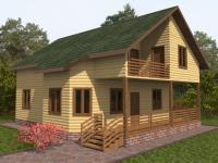 Проект Д 27 Дом 10.5x9