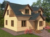 Проект Д 28 Дом 10x8