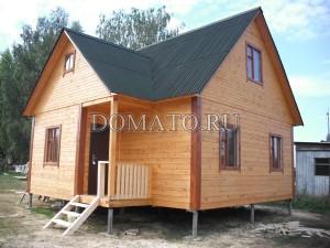 дом и проф бруса