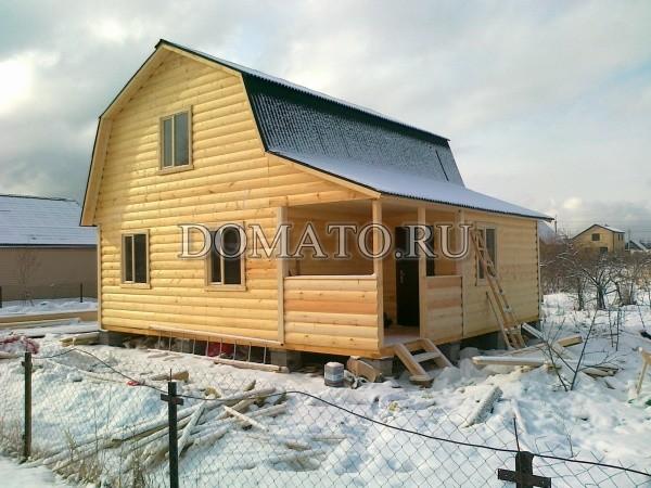 Дом из бруса фото