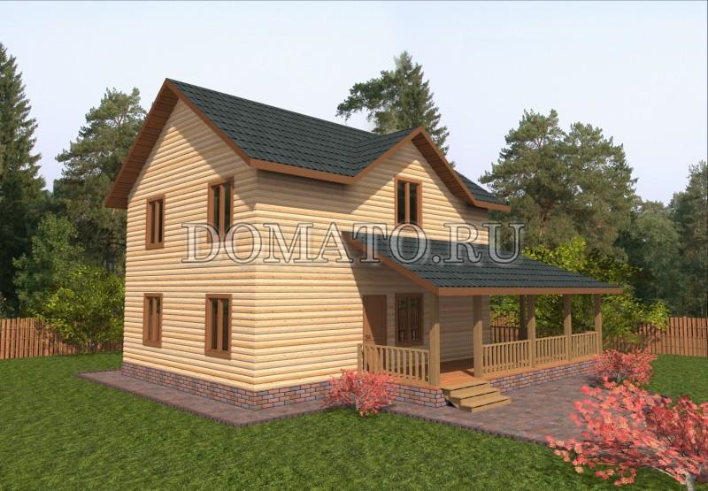 Проект дома 7 на 9