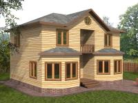 Дом 7×9 с двумя эркерами