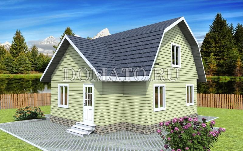 каркасник дом
