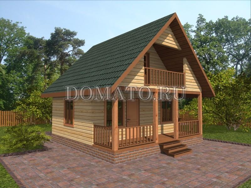 Дом из бруса 6×6