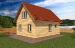 фасад дома по проекту