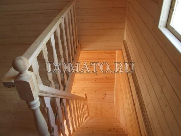вид с лестницы вниз