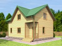 Проекты домов и загородных коттеджей под ключ