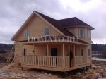фото дома из бруса