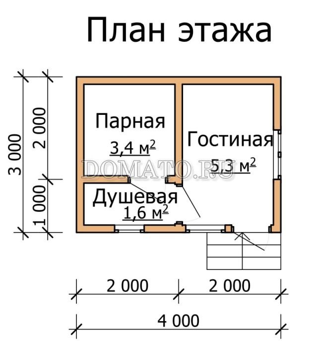 план 4×3