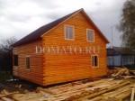 проект дома с двухскатной крышей