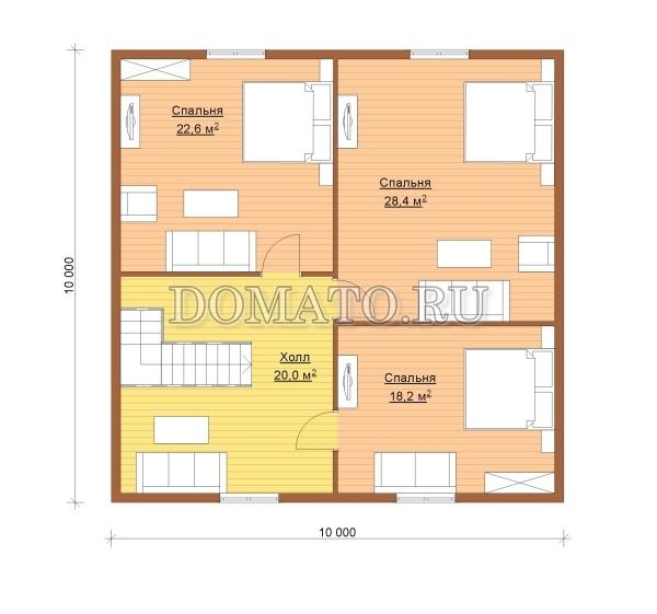 K1 - план 2 этаж