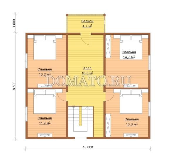 K10_план 2 этаж