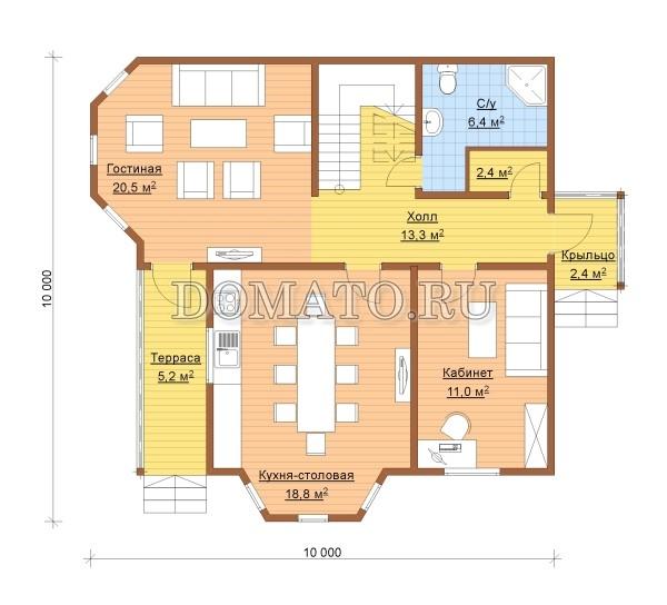 K11 - план 1 этаж