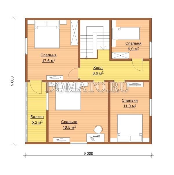 K11 - план 2 этаж