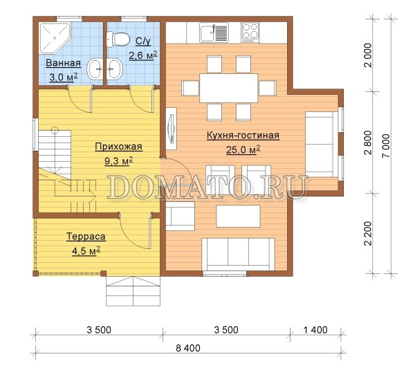 K13 - план 1 этаж