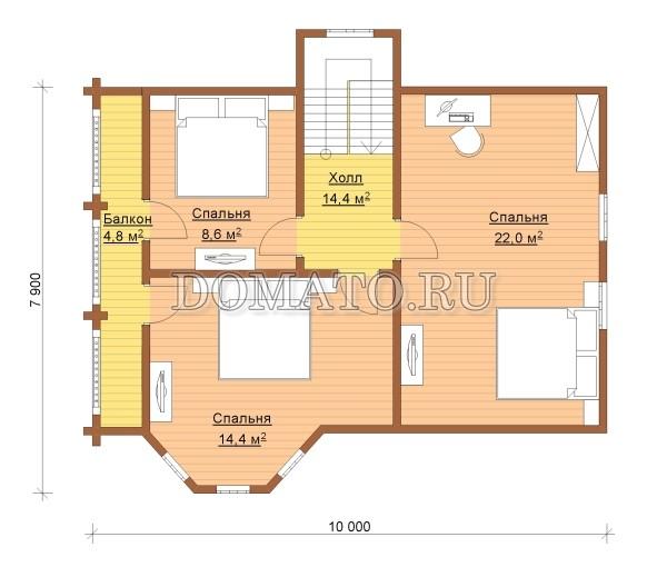 K13 - план 2 этаж