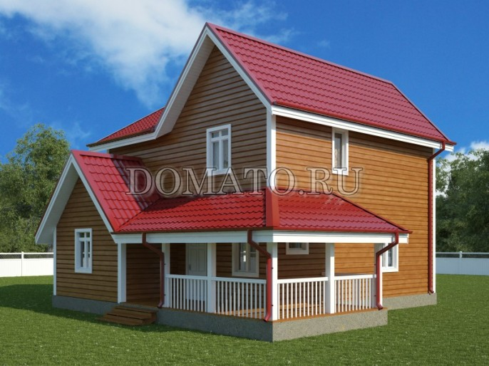 K14 проект дома 10 на 8