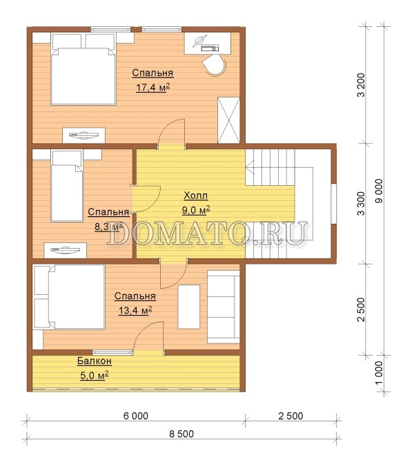 K2 - план 2 этаж