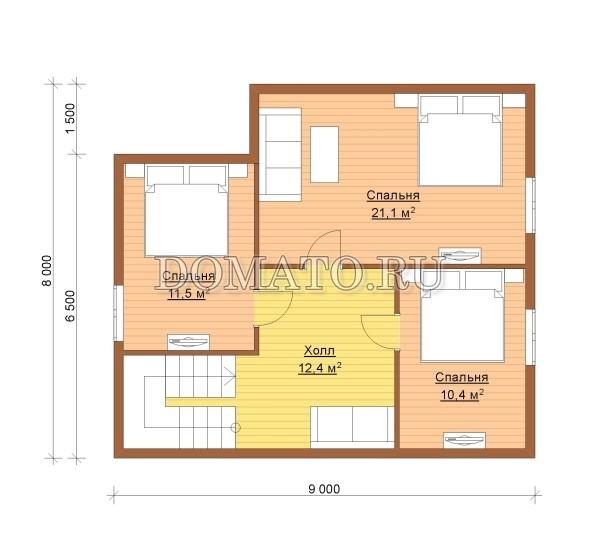 К3 - план 2 этаж