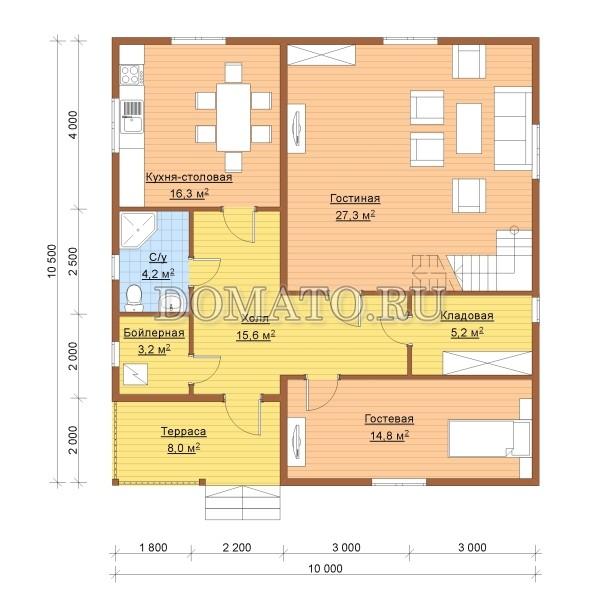 К7 - план 1 этаж