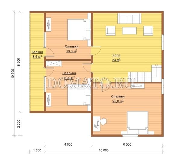 К7 - план 2 этаж