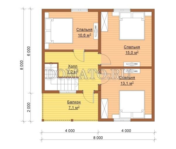 K8 - план 2 этаж