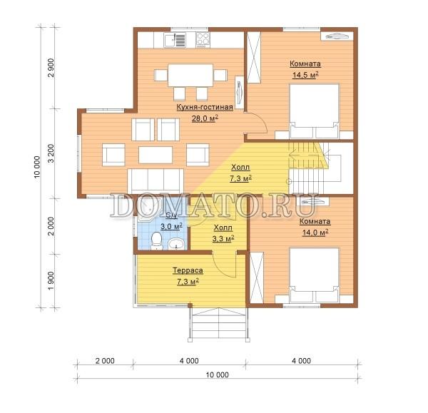К9 - план 1 этаж