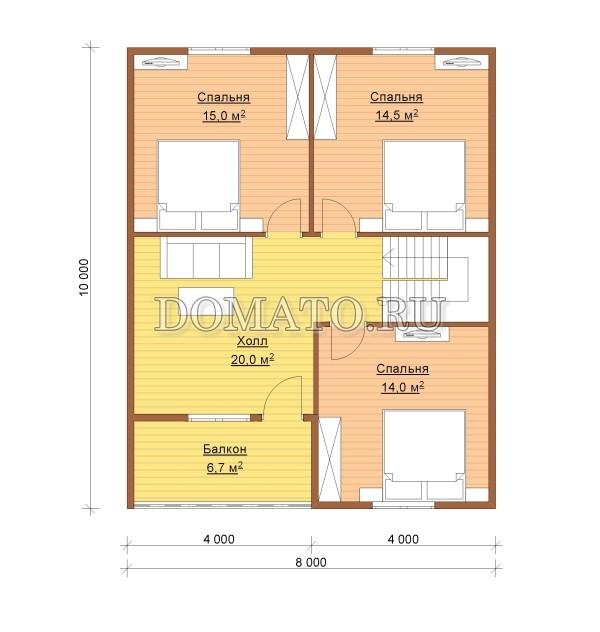 К9 - план 2 этаж