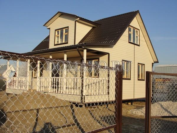 Дом с отделкой сайдингом