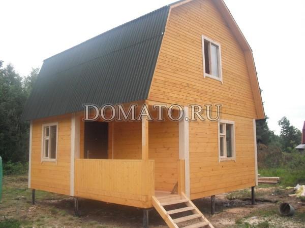 фото дома из бруса дачного
