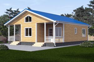 Одноэтажный дом 12х12_мини