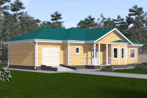 Одноэтажный дом 18 на 12_мини