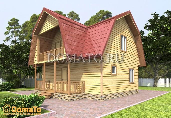 Проект дома Д55