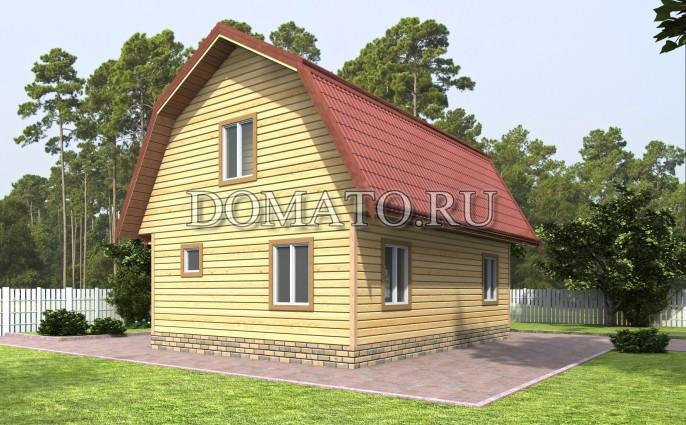 Проект дома Д55_2