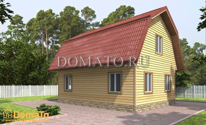 Проект дома Д55_3