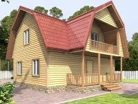 Проект дома Д55_мини