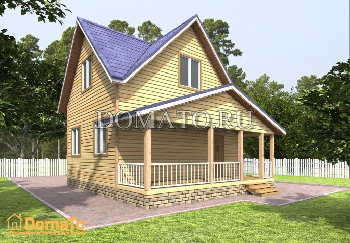 Проект дома Д56