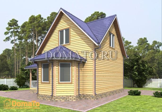 Проект дома Д56_2