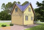Проект дома Д56_3