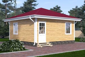 дом одноэтажный №33_мини