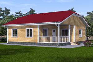 Проект дома 10 на 10 одноэтажный